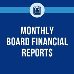 monthly  board financials